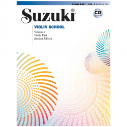 Suzuki Violin, Nivel 1, Libro + CD (ALF 00-46910 ) ( Copy )