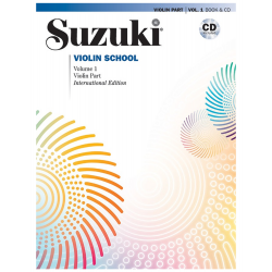 Suzuki Violin, Nivel 1, Libro + CD (ALF 00-46910 )
